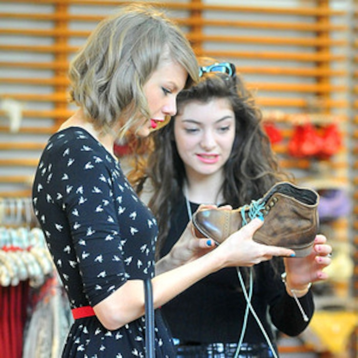 Taylor Swift And Lordes Epic Shopping Day Includes A Run In With