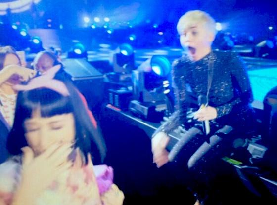 Miley Cyrus, Katy Perry