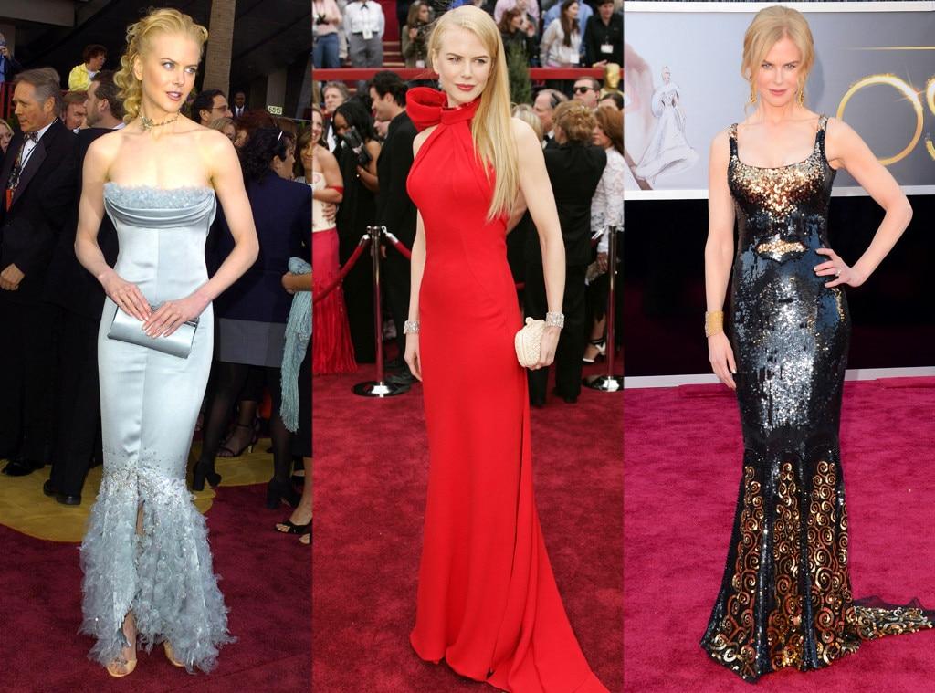 Nicole Kidman, Oscars Over the Years