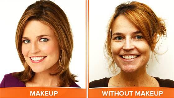 Savannah Guthrie, No Makeup