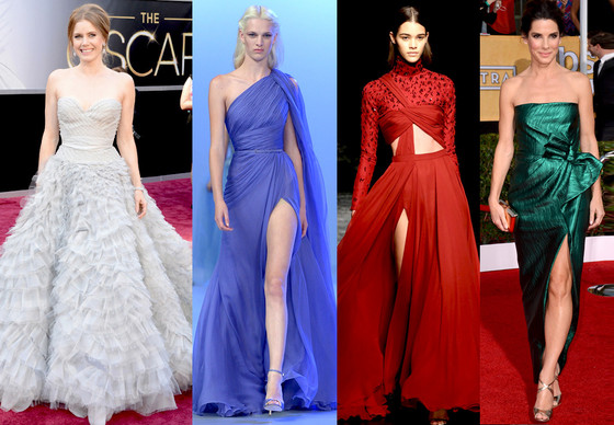 Sandra Bullock, SAG Awards, Prabal Gurung, Amy Adams, Elie Saab, Oscar Gown Predictions