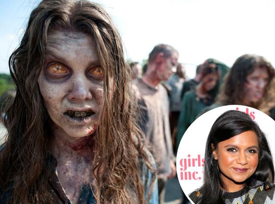 Mindy Kaling, The Walking Dead