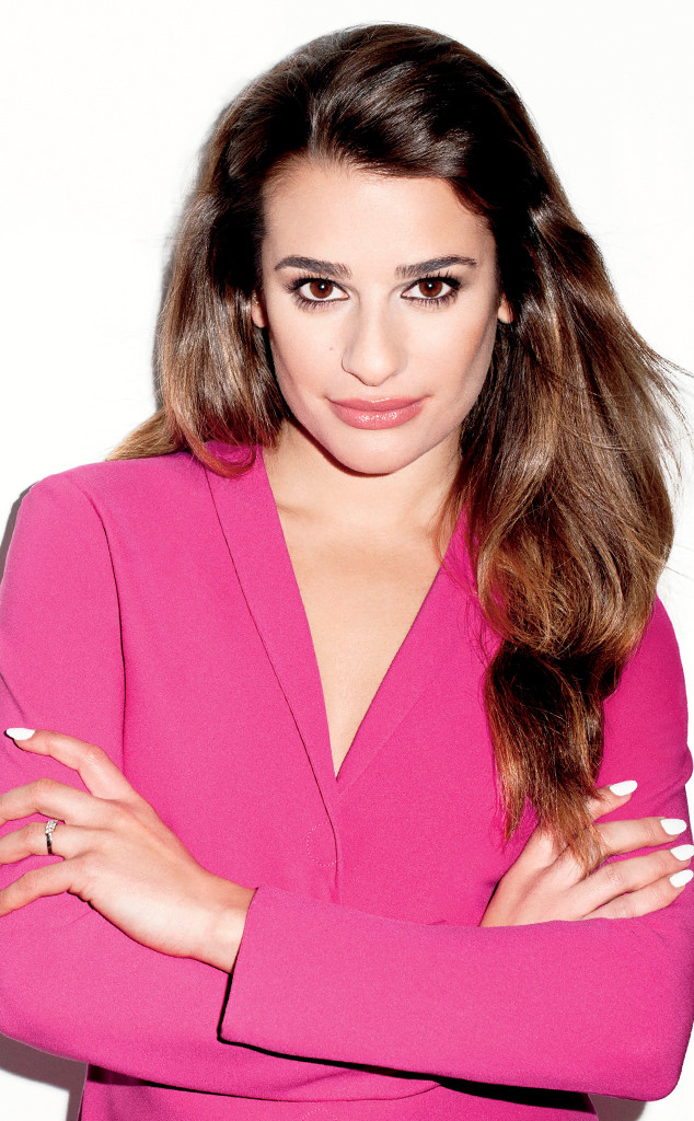 Glee: Lea Michele flashes booty in bottomless swimsuit