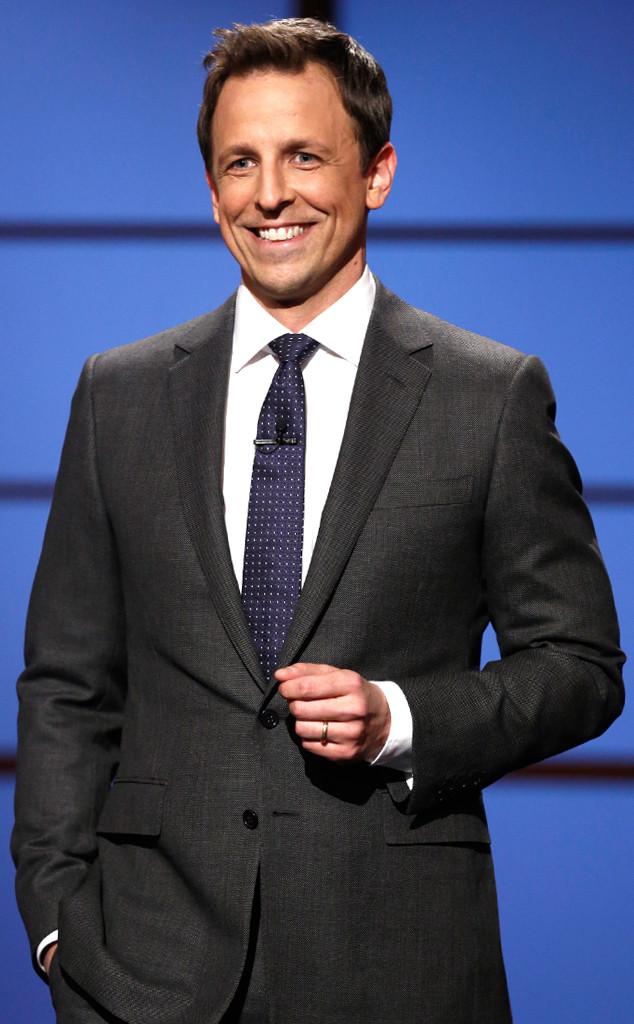 Late Night With Seth Meyers, Seth Meyers