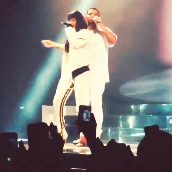 Rihanna, Drake, Instagram
