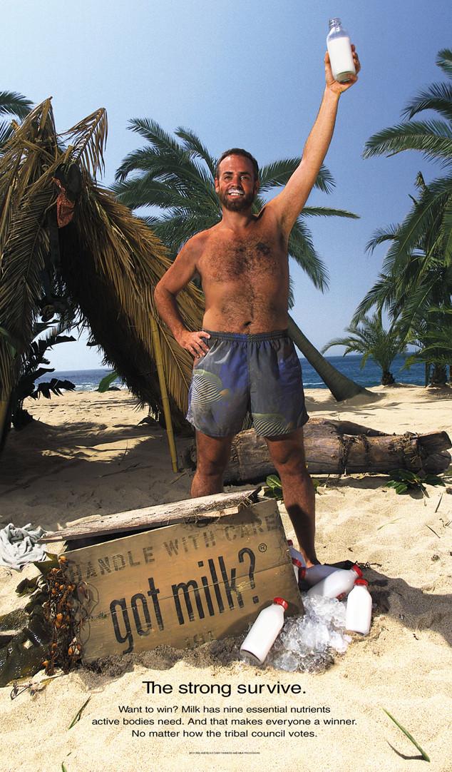 Got Milk Ad, Richard Hatch