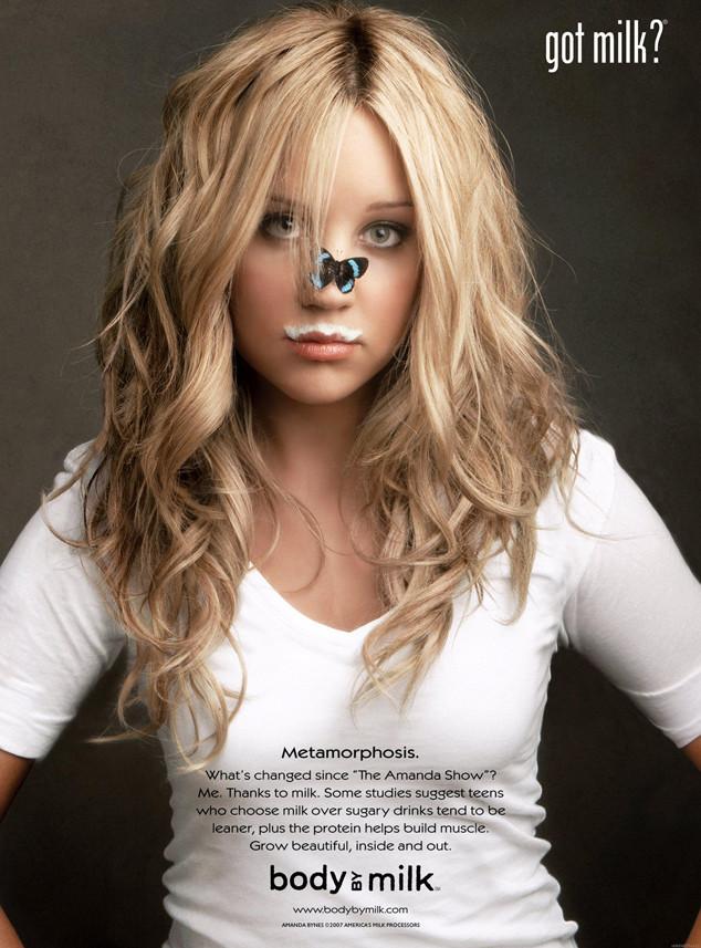 Amanda Bynes, Got Milk ad