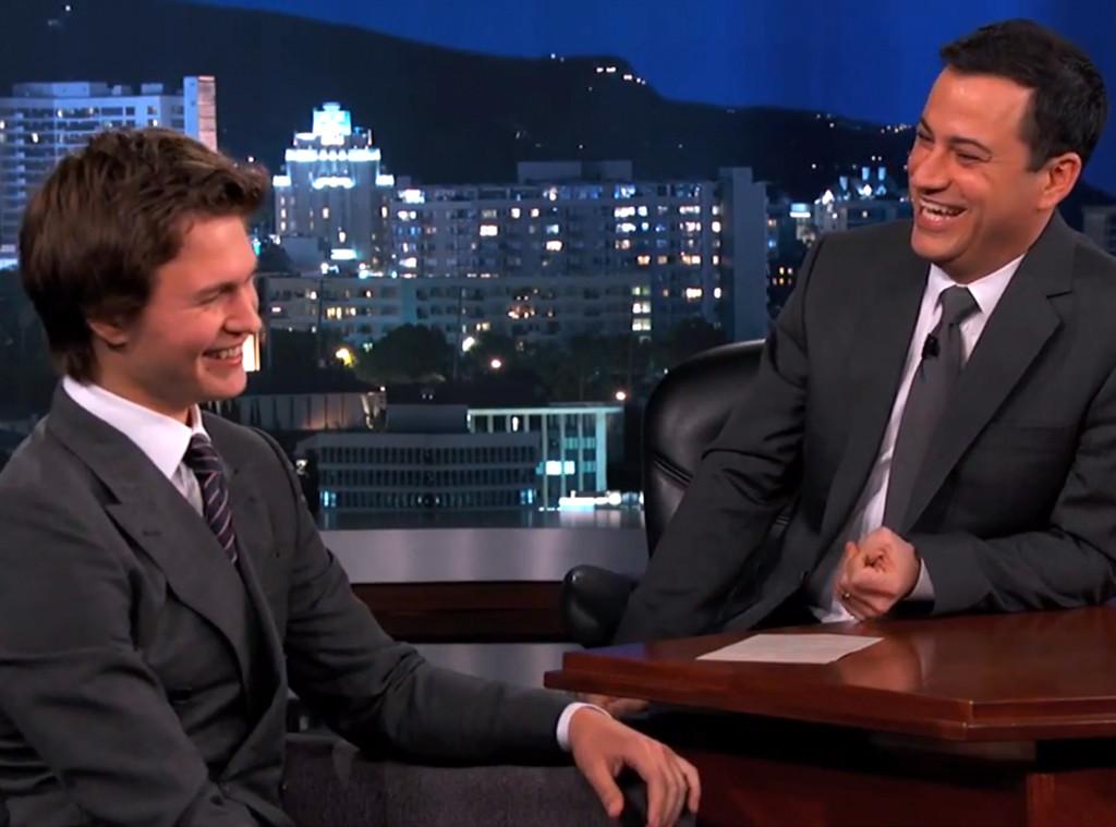 Ansel Elgort, Jimmy Kimmel Live