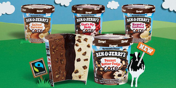 Ben and Jerry's, Core, Ice Cream