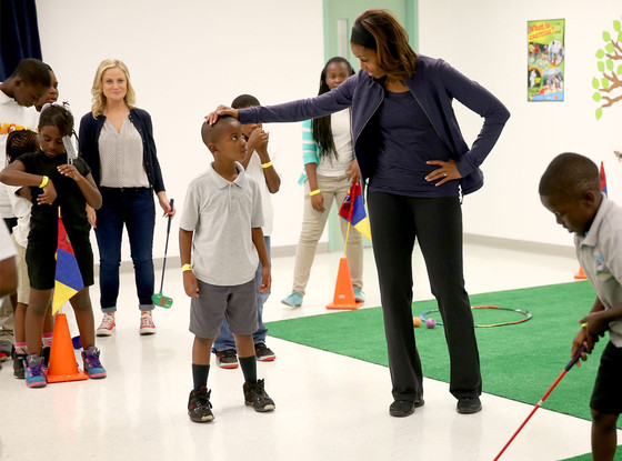 Michelle Obama, Amy Poehler
