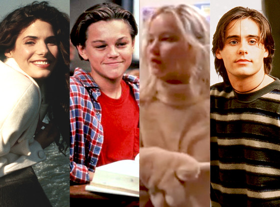 Sandra Bullock, Jennifer Lawrence, Jared Leto, Leo DiCaprio, Oscar Nominees on TV