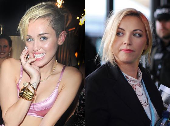 Miley Cyrus, Charlotte Church