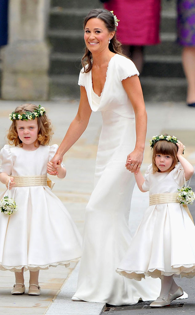 Pippa Middleton Says Her Bridesmaid Dress Fit Too Well E Online