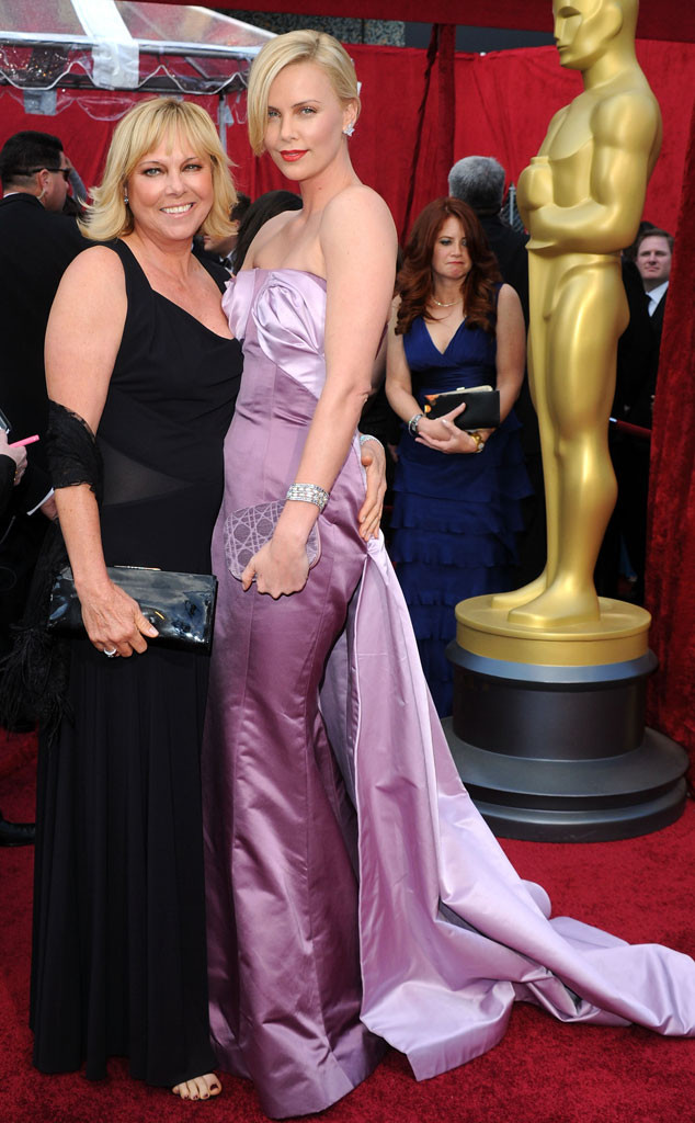Charlize Theron, Mother, Gerda Theron, Oscars 2010