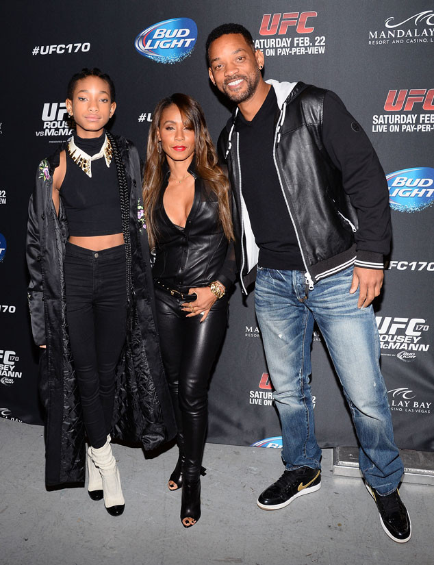 Willow Smith, Jada Pinkett Smith, Will Smith