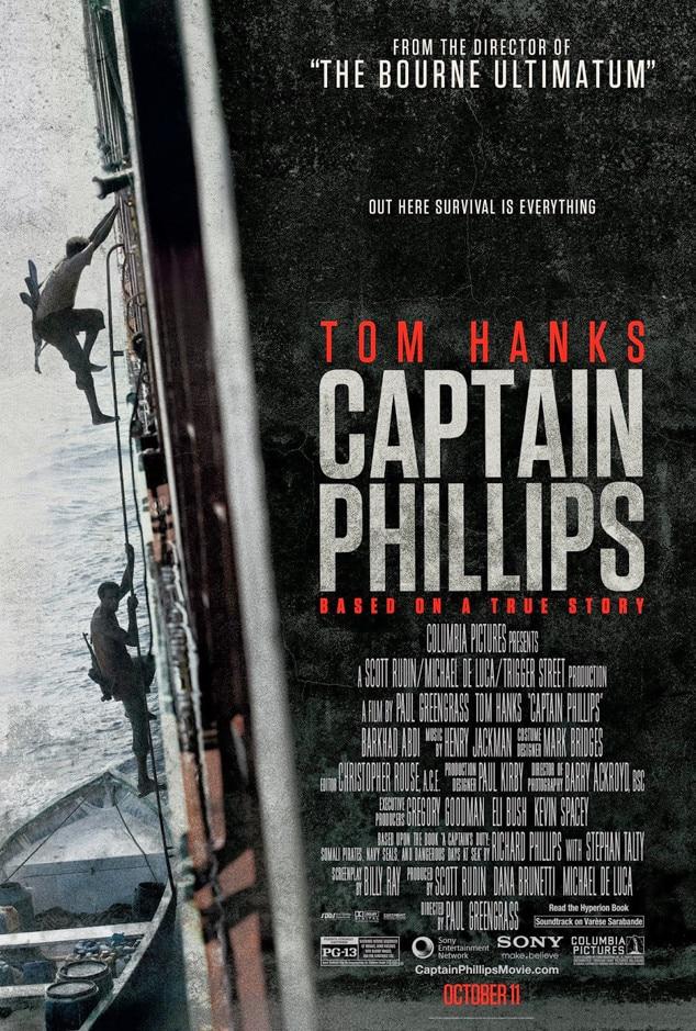 Captain Phillips, Movie Poster