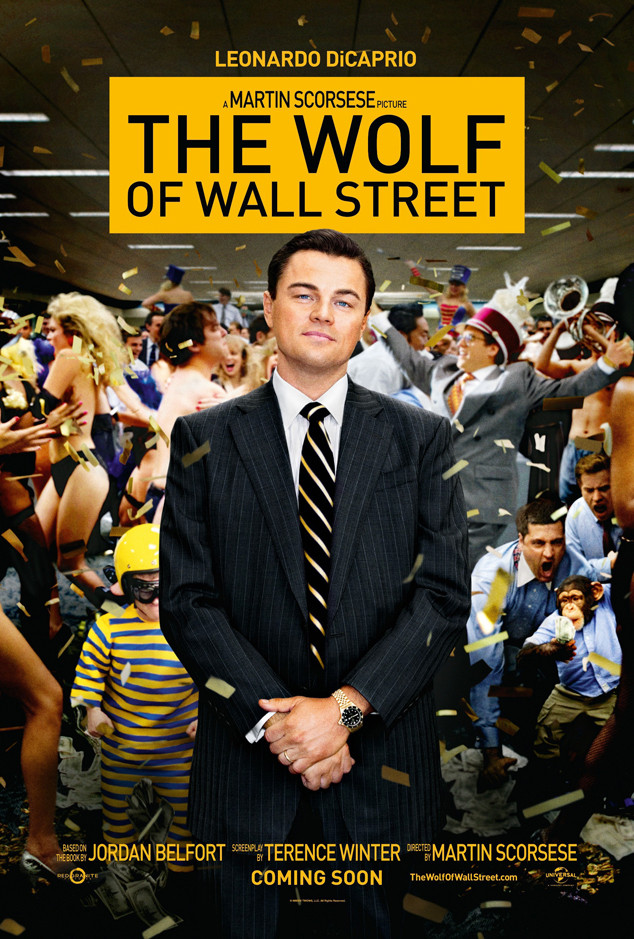 Wolf of Wall Street, Leonardo DiCaprio, Movie Poster