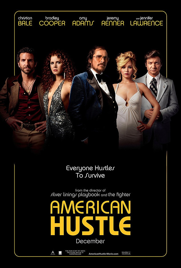 American Hustle, Movie Poster
