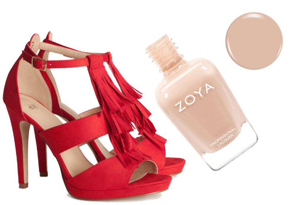 Spring Shoes & Polishes, H&M, Zoya