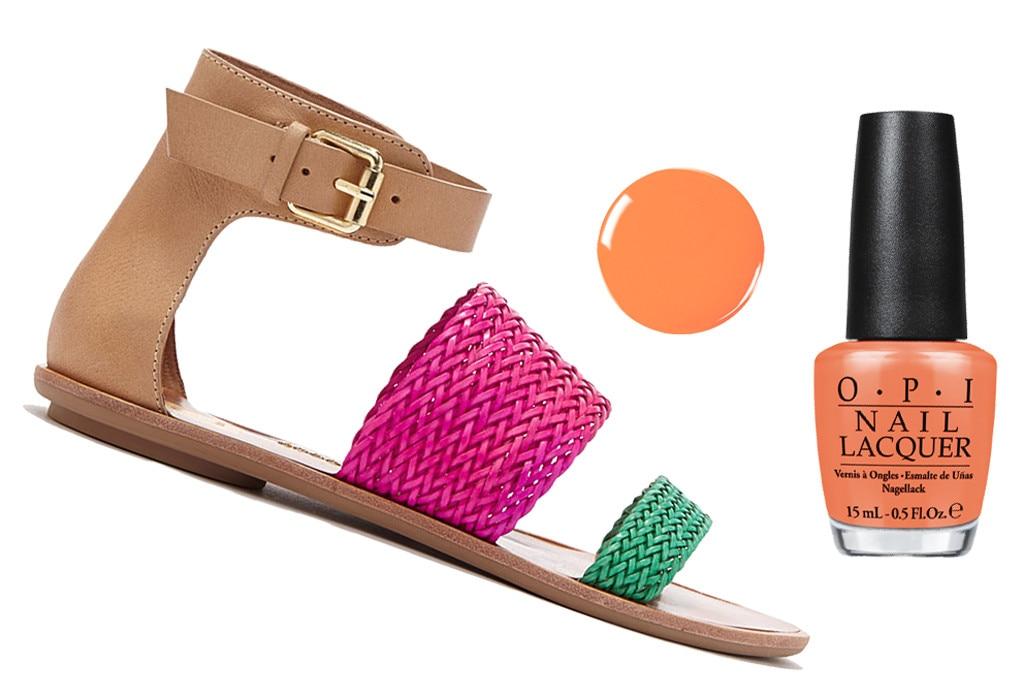 Spring Shoes & Polishes, DV by Dolce Vita, OPI
