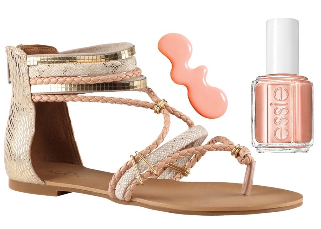 Spring Shoes & Polishes, Aldo, Essie