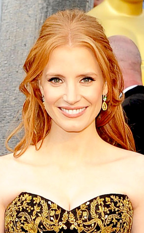 Jessica Chastain, Oscars 2012