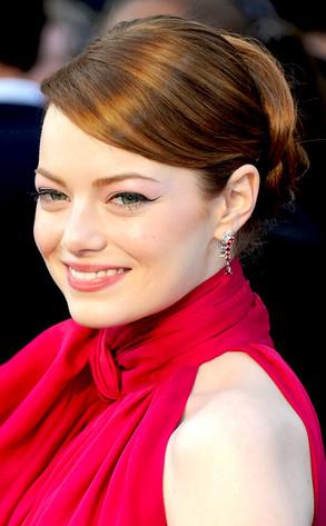 Emma Stone, Oscars 2012