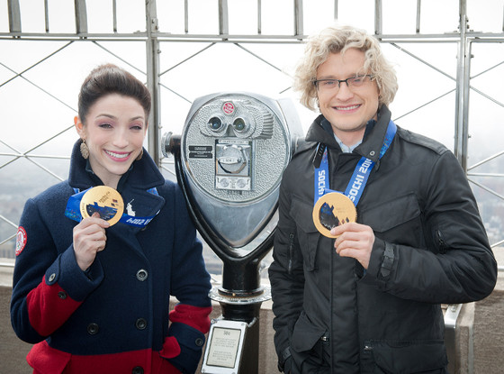 Olympic Ice Dancer Charlie White Is Engaged Partner Meryl: Olympic Ice Dancer Charlie White Is Engaged, Partner Meryl