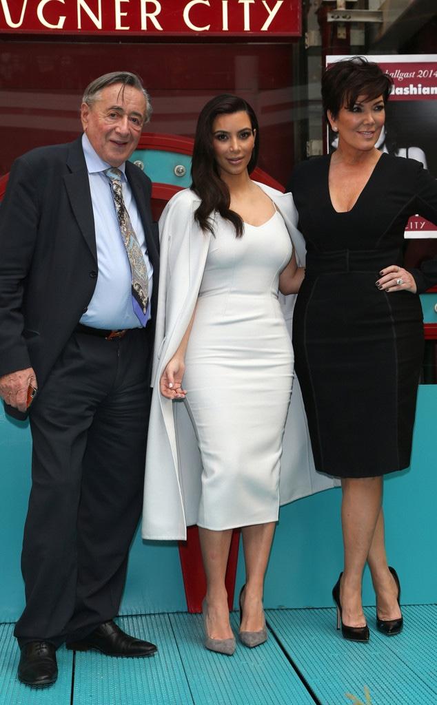 Kim Kardashian, Kris Jenner, Richard Lugner