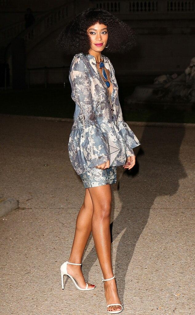 Solange Knowles, Paris Fashion Week