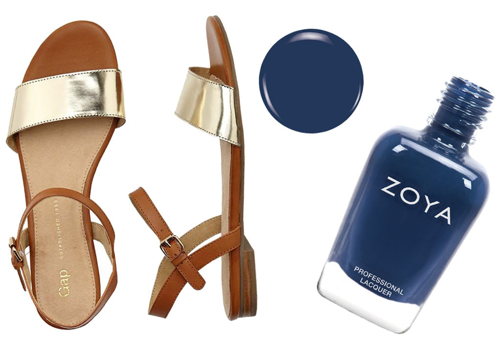 Spring Shoes & Polishes, Gap, Zoya