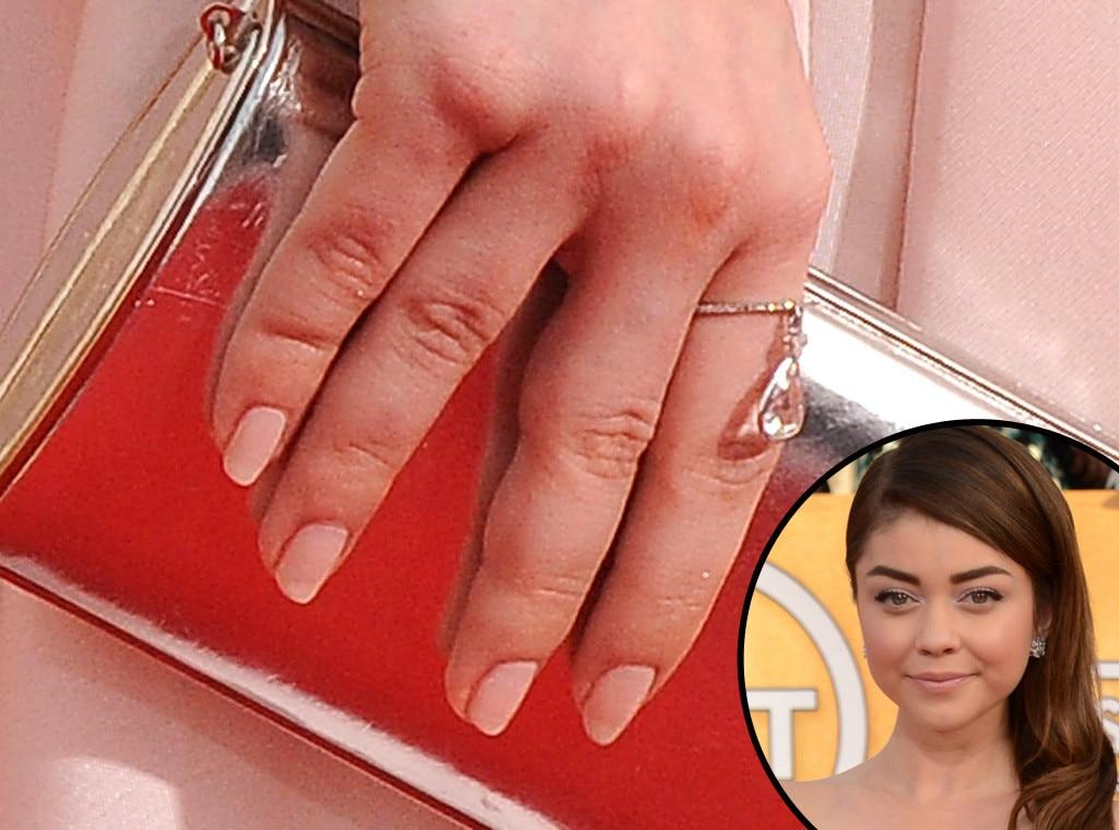 Sarah Hyland, SAG, Manicure