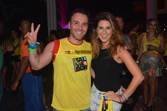 Fernanda Paes Leme, Matheus Mazzafera, Carnaval, Camarote Salvador