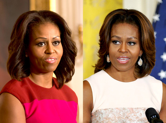 Michelle Obama, Eyebrows