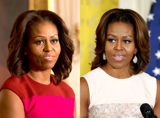 Michelle Obama, Eyebrows