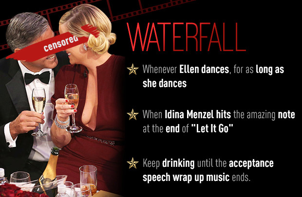Play E!'s Official Oscars 2014 Drinking Game!