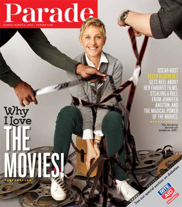 Ellen DeGeneres, Parade