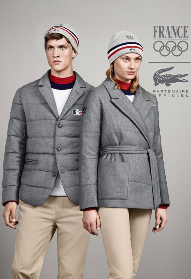 Lacoste Olympic Uniform