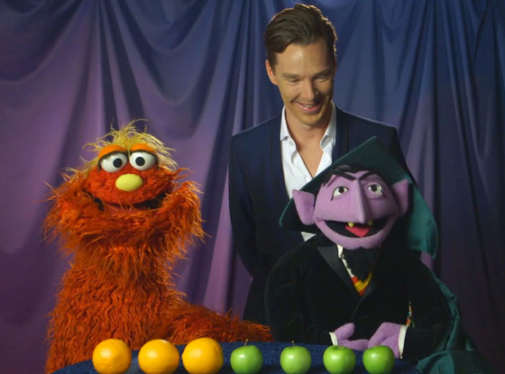 Benedict Cumberbatch, Sesame Street