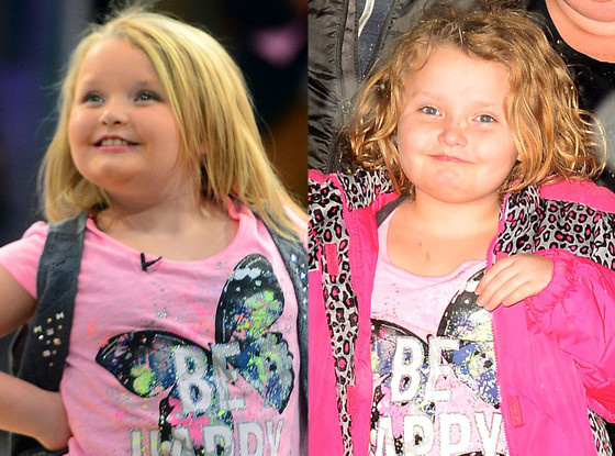 Honey Boo Boo, Hair