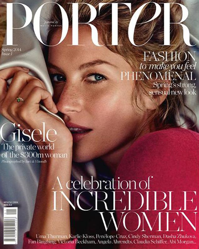 Gisele Bundchen, Porter Magazine