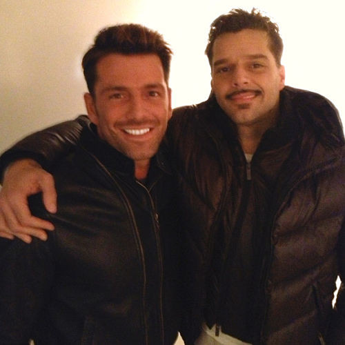 Ricky Martin, Federico Diaz