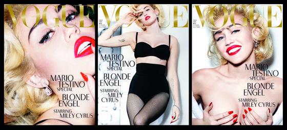 Miley Cyrus, Vogue Germany