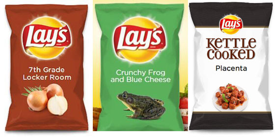 The Submissions for New Lay's Chip Flavors Are Getting Out of