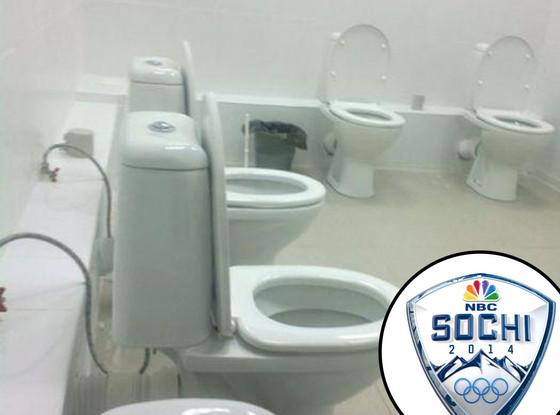 Sochi Olympics, Toilets