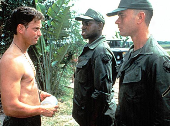Tom Hanks, Gary Senise and Mykelti Williamson, Forrest Gump
