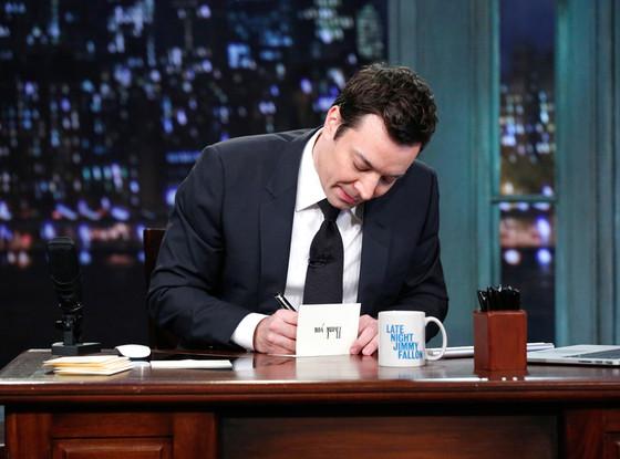 Late Night with Jimmy Fallon, Jimmy Fallon