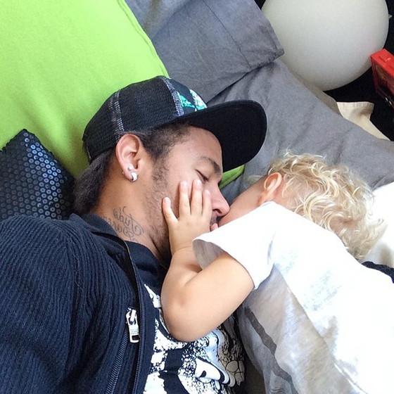 Neymar e filho