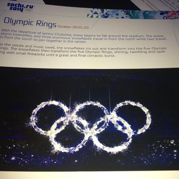Olympic Ring Malfunction, Snowflake, Sochi Opening Ceremony, Instagram