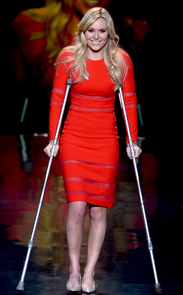 Lindsey Vonn, NYFW, The Heart Truth Red Dress Collection 2014